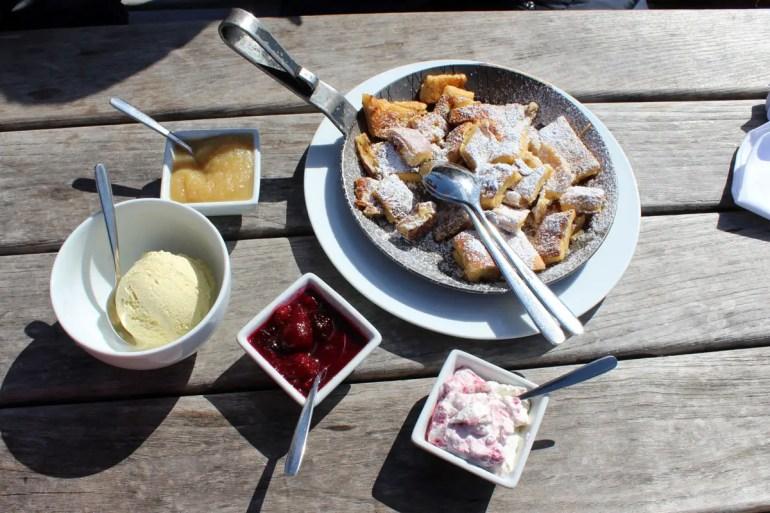 Ein Stück Alpenküche auf Sylt: der Kaiserschmarrn in der Sansibar
