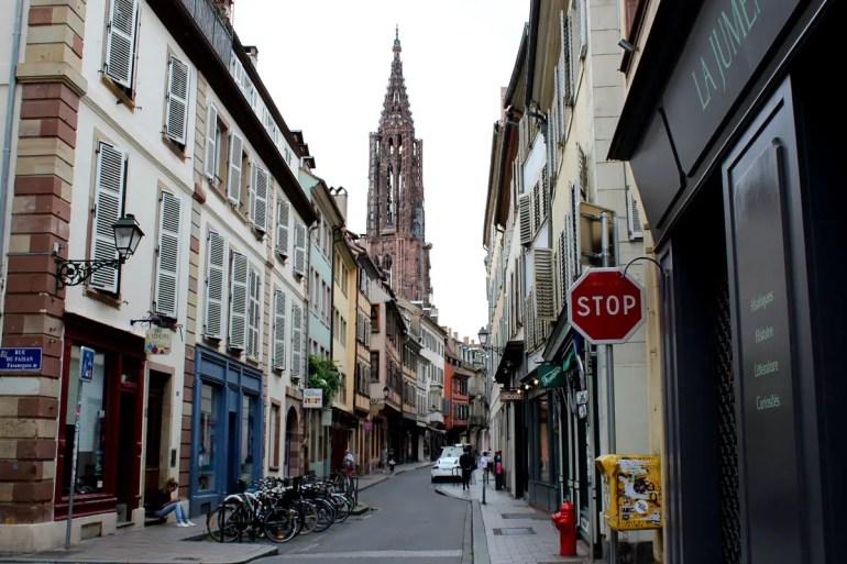 Die Rue des Juifs erinnert an das mittelalterliche Judenviertel