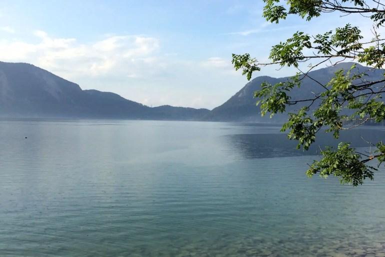 Einer der tiefsten Seen um München: der Walchensee