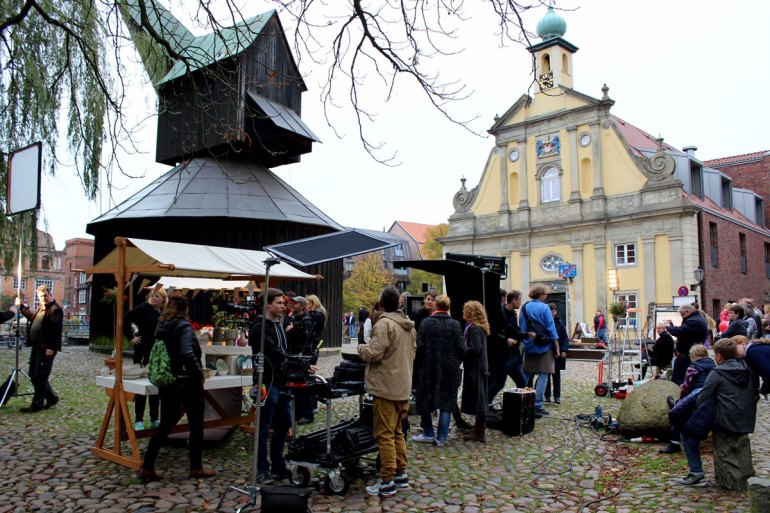 """In Lüneburg wird fast täglich für die Telenovela """"Rote Rosen"""" gedreht"""