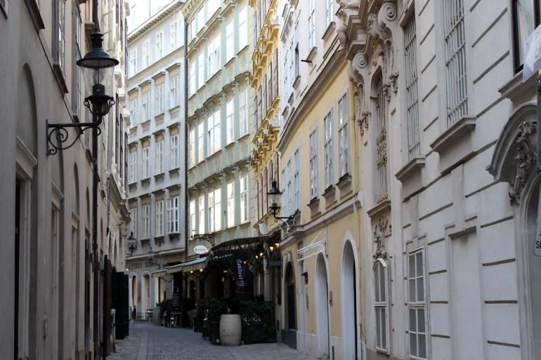 Historische Gassen in Wiens Innerer Stadt
