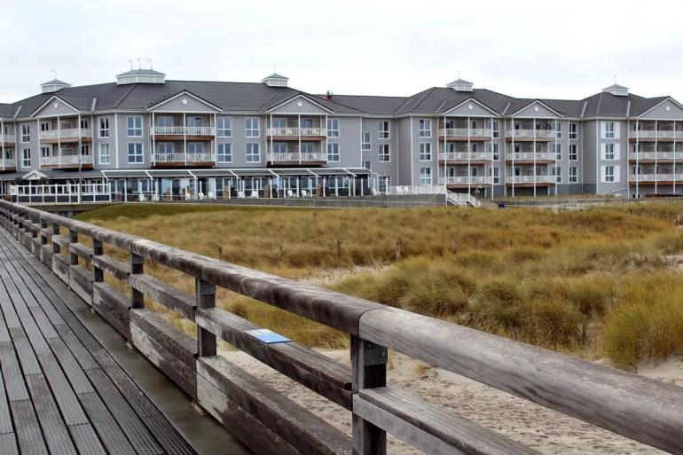Das Beach Motel Heiligenhafen liegt direkt an der neuen Erlebnis-Seebrücke