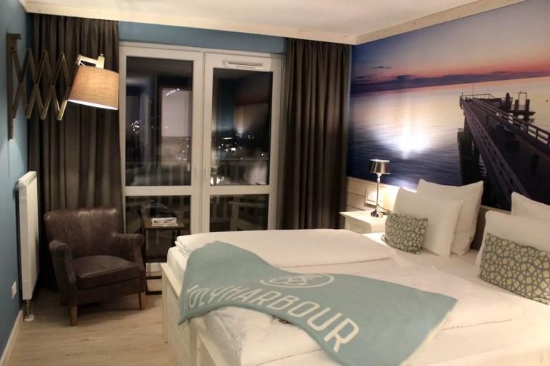 Unser Zimmer ist klein aber fein mit Balkon und Ausblick