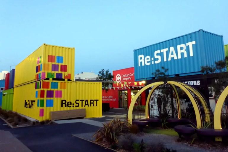 Das hippe Containereinkaufszentrum Re Start zeigt: Christchurch lässt sich nicht unterkriegen