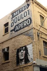 Die Street Art zieht sich in Adelaide durch die ganze Stadt