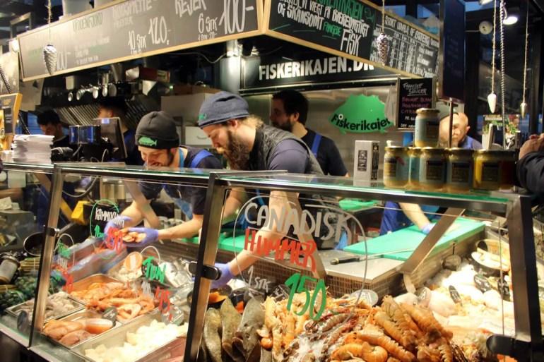 Hier gibt's auch frischen Fisch und Meeresfrüchte