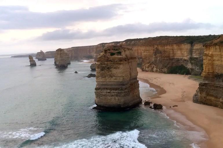 Die Zwölf Apostel sind das Highlight der Tour entlang der Great Ocean Road