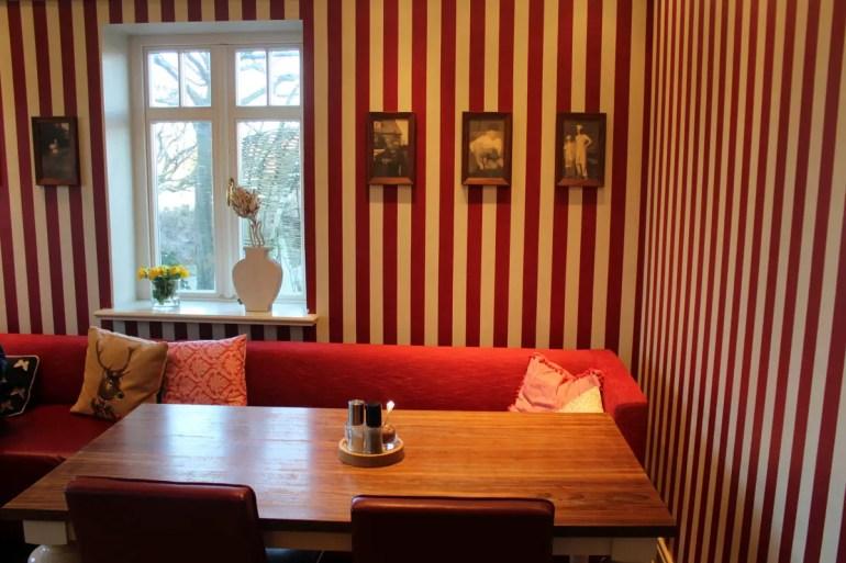 So richtig gemütlich ist es im Café der Bäckerei Jürgen Ingwersen in Morsum