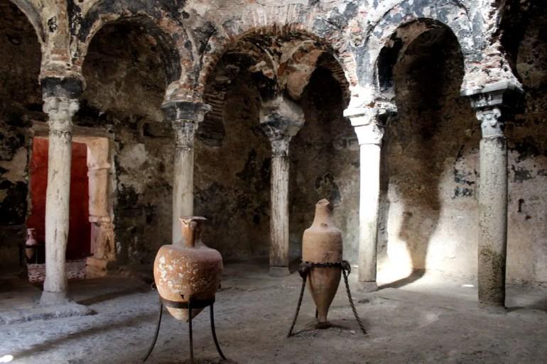 Das wichtigste Überbleibsel maurischer Architektur sind die Arabischen Bäder in der Altstadt von Palma