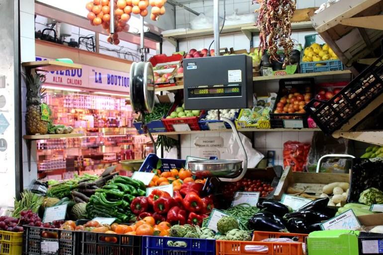 Auf dem Markt in Santa Catalina gehen neben den Nachbarn auch viele Köche einkaufen