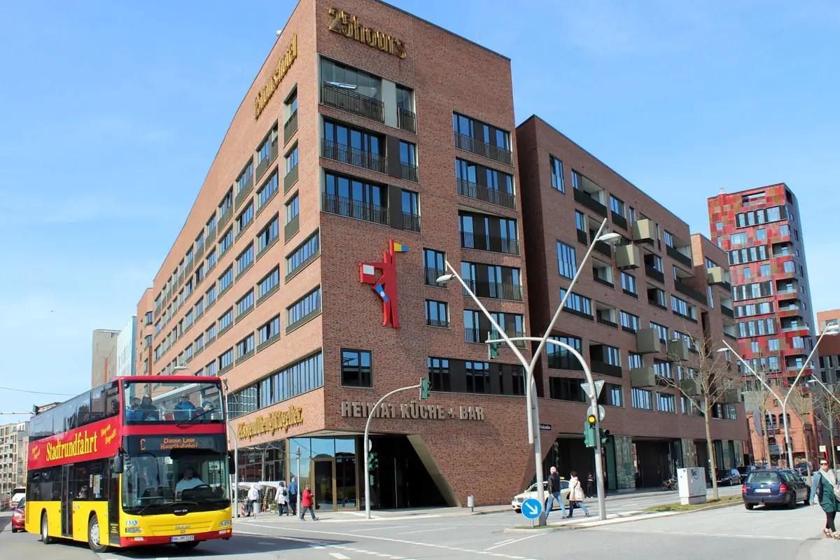 25hours hotel hafencity stylische kojen mit elbblick for Stylische hotels