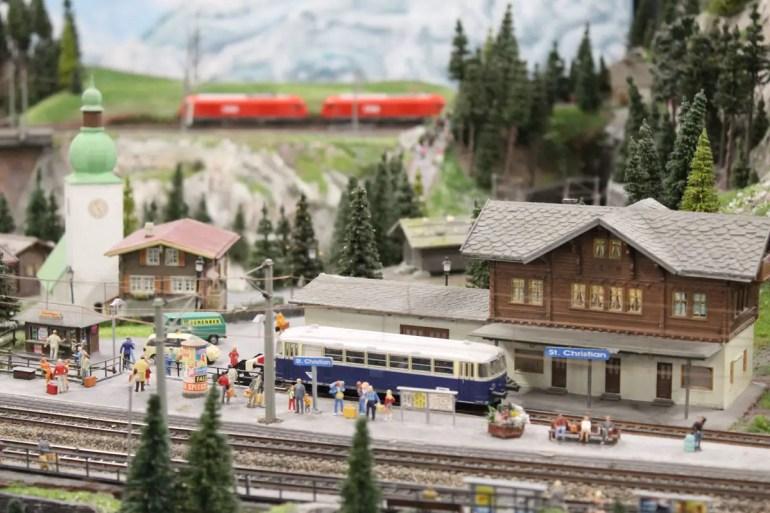 Bahnromantik in der Schweiz