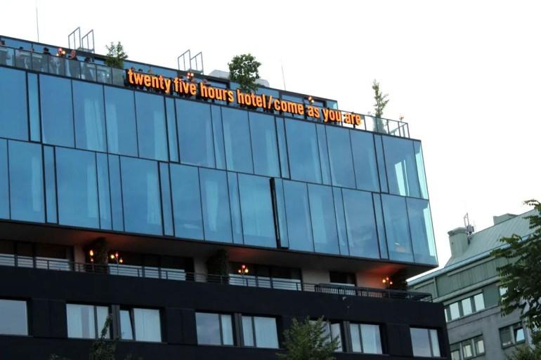 Ganz oben: Die Bar Dachboden ist auch bei Wienern beliebt
