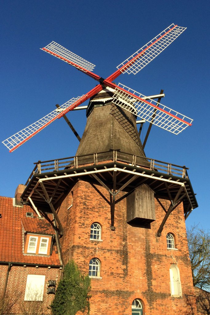 Die Alte Mühle in Jork kann immer noch besichtigt werden
