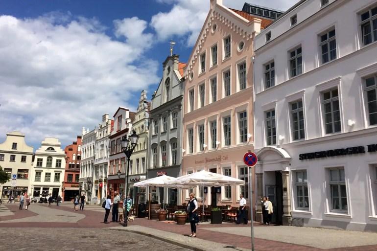 Die Altstadt von Wismar zählt zum Unesco-Welterbe