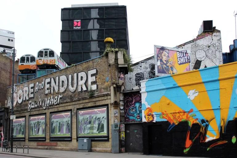 Im CitizenM im Londoner Trendviertel Shoreditch hast du die Street Art direkt vor der Tür