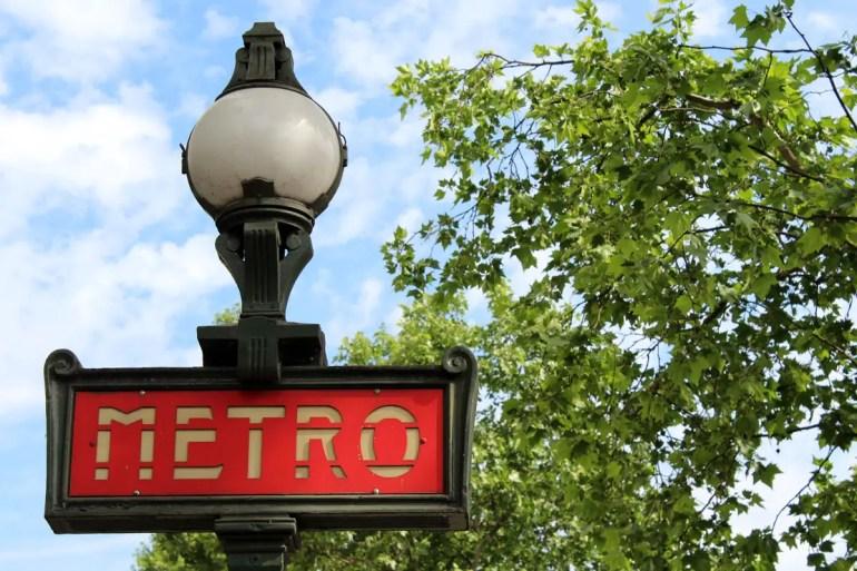 Die Metro von Paris ist selbst eine Sehenswürdigkeit