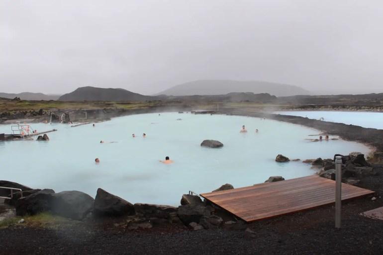 Die Myvatn Nature Baths gehören zu den bekanntesten Hot Pots in Island