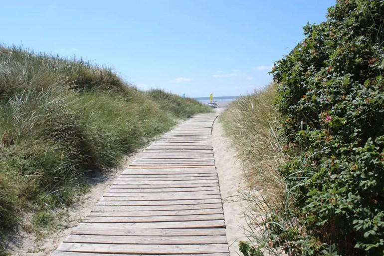 Dünen sind auf Föhr eher selten, du findest sie vor allem rund um das Goting Kliff