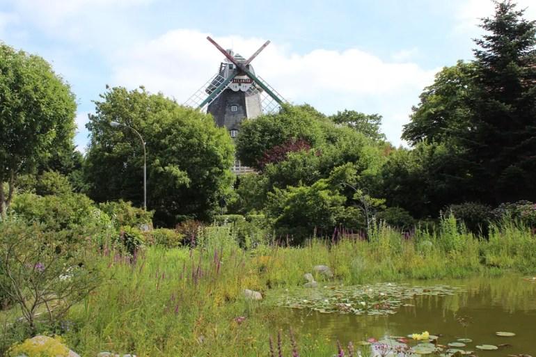 Die alte Mühle in Wyk