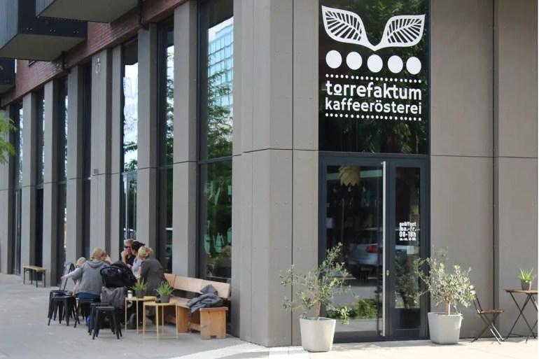 Mit Torrefaktum gibt es auch in der HafenCity eine Kaffeerösterei