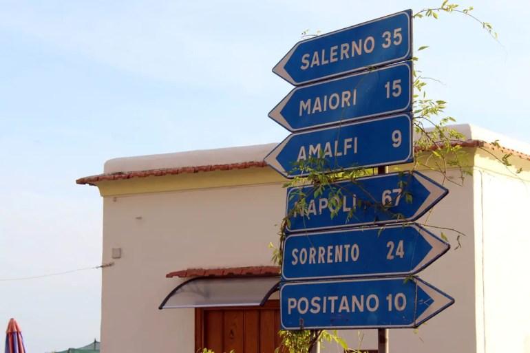 Positana, Amalfi & Co. gehören zu den Top-Zielen an der Amalfiküste