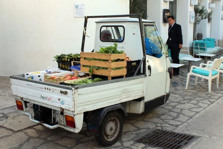 Gemüselieferung à la Capri
