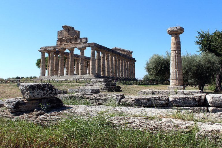 Die Ruinen von Paestum zählen zum Unesco-Weltkulturerbe