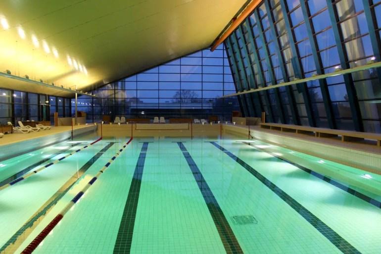Das Meerwasserwellenbad wurde von Arne Jacobsen entworfen