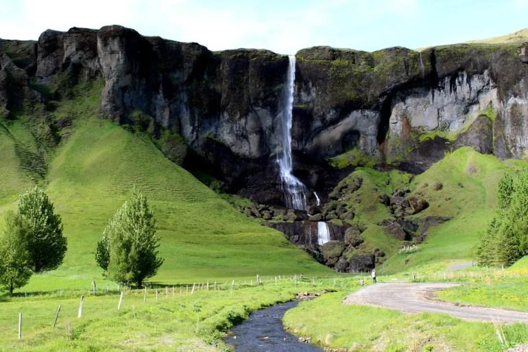 Auch die unebkannten Wasserfälle sind oft spektakulär