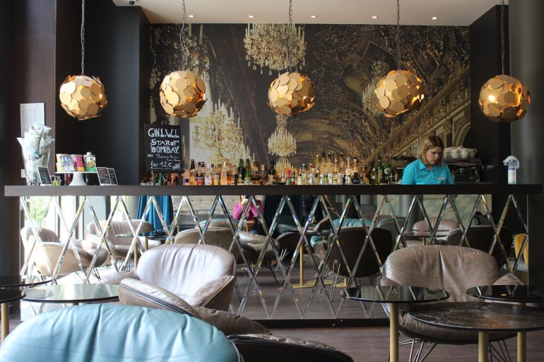 Die Bar im Motel One am Sendlinger Tor