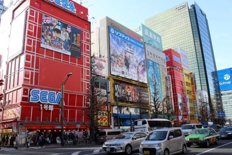 Akihabara ist das Zentrum der Mangakultur
