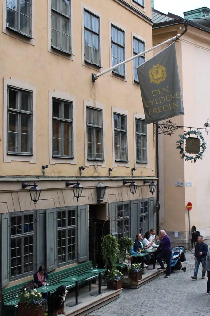 """Das """"Den Gyldene Freden"""" ist eines der bekanntesten Restaurants Schwedens"""