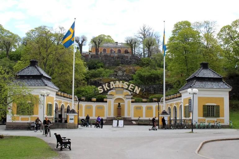 Das Freilichtmuseum Skansen ist ein beliebtes Ausflugsziel