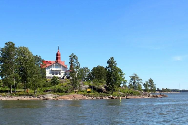 Von Helsinkis Zentrum aus bist du ganz schnell auf einer der Inseln