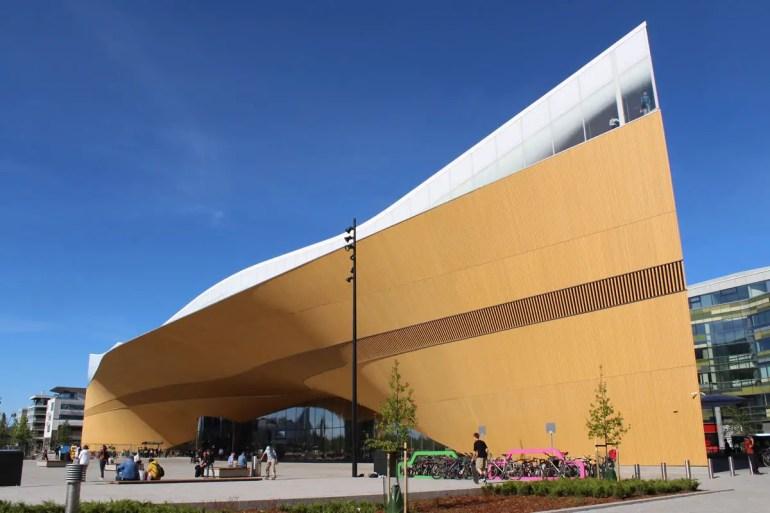 Ein echter Hingucker: Helsinkis neue Zentralbibliothek Oodi