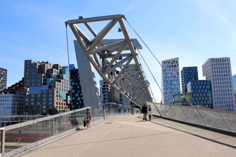 Oslos moderne Architektur: das Viertel Barcode