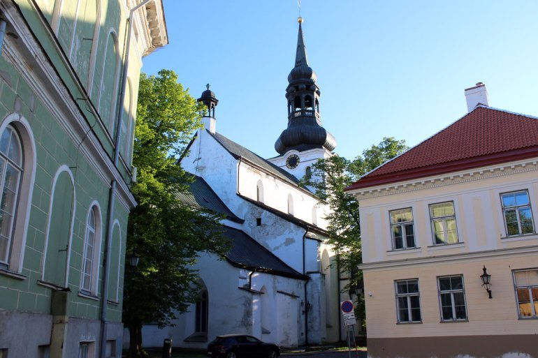 Tallinns Dom findest du in der Oberstadt