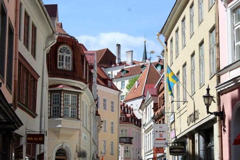 Ein Blick über die Häuser der Altstadt