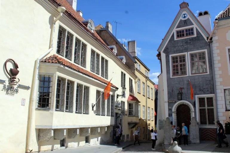 Tallins Ratsapotheke ist die älteste Apotheke Europas