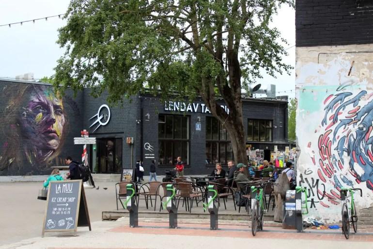 Streetart und coole Restaurants in Telliskivi