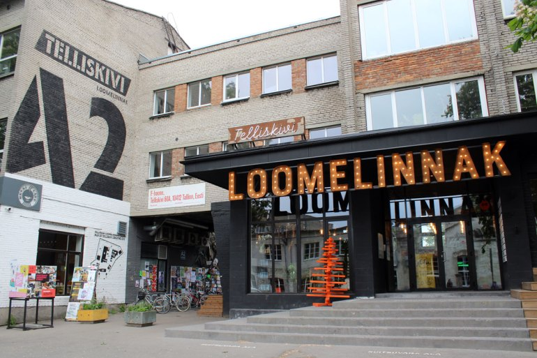 Die Creative City ist das Herzstück des alten Fabrikkomplexes Telliskivi