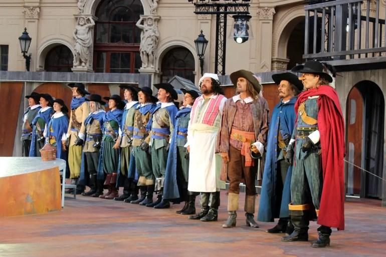 2019 wird im Schlosshof Cyrano de Bergerac gespielt