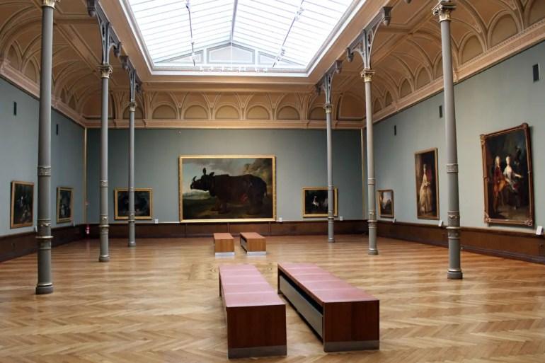 Im Staatlichen Museum findest du vor allem die Alten Meister