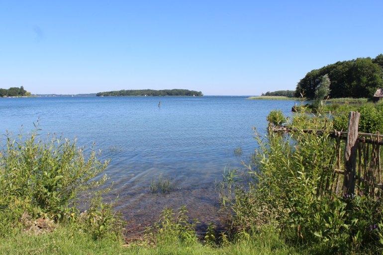 Vom Freilichtmuseum Mueß bietet sich ein toller Ausblick auf den Schweriner See