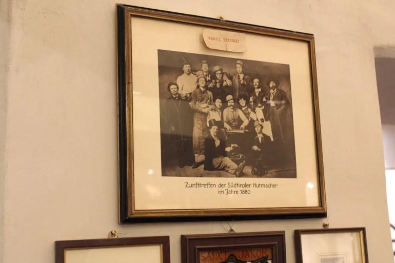 Im Laden der Rizzollis erinnert ein Foto an den Gründer