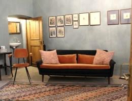 Verbindet Tradition und Moderne: die Lobby im Goldenstern Townhouse