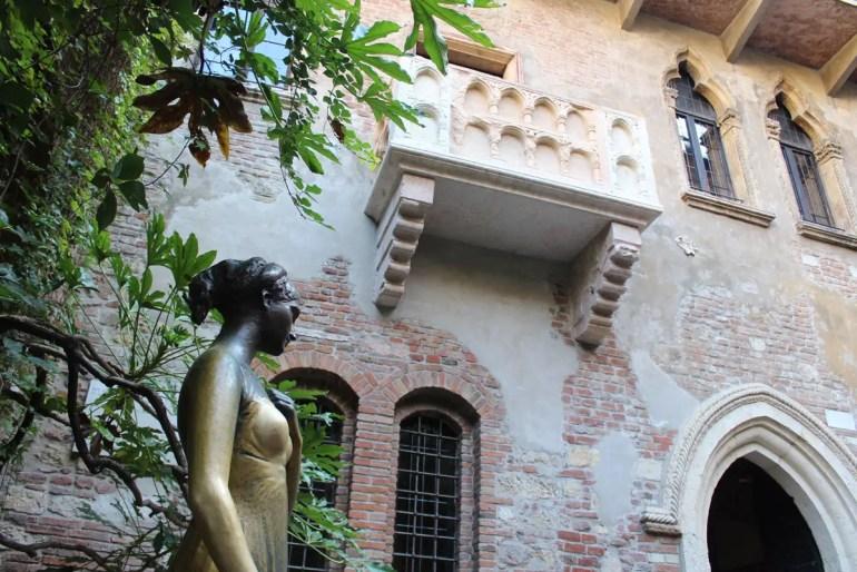 Top-Ziel in Verona: der Balkon von Julia