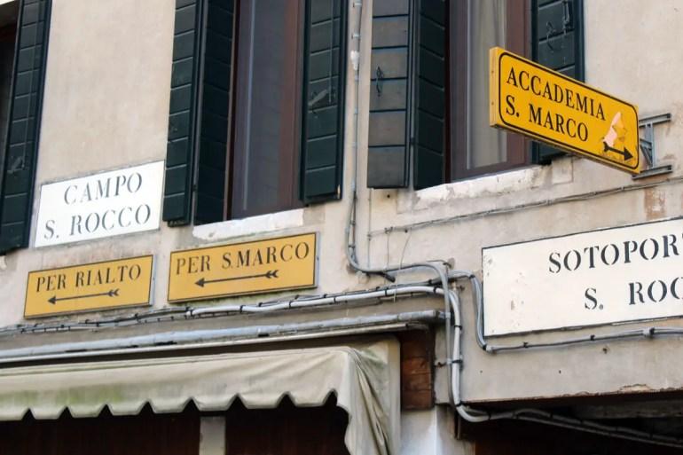 Alle Wege führen nach San Marco