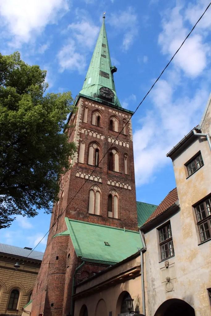 Die St.-James-Kathedrale im Zentrum von Riga